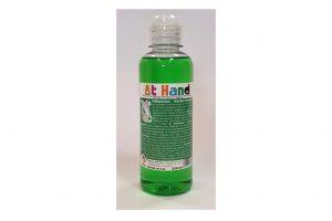 70% alkoholtartalomú kézfertőtlenítő, borsmenta illó olajjal illatosítva, 250 ml-es kiszerelés