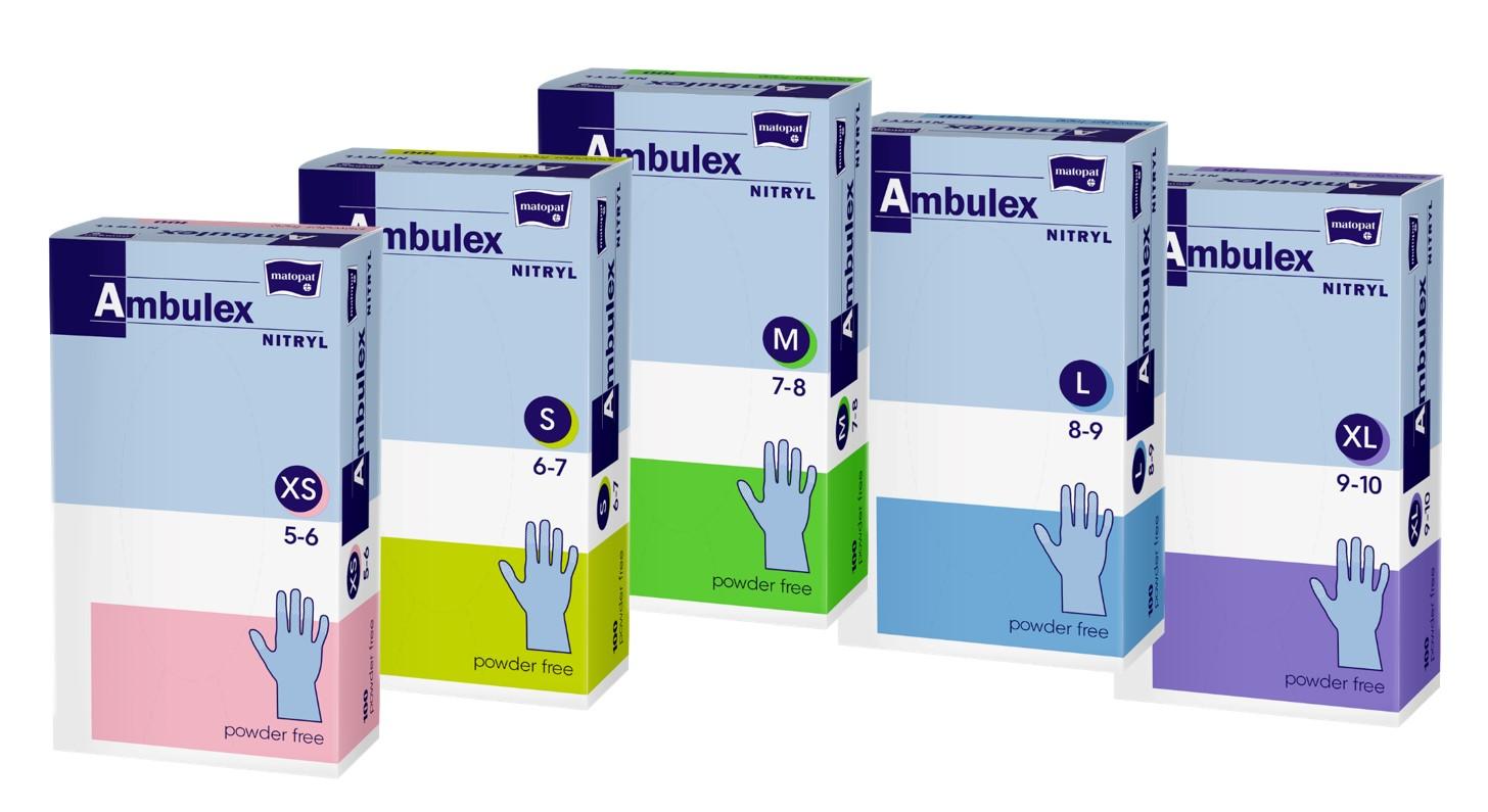 ambulex nitril kesztyű