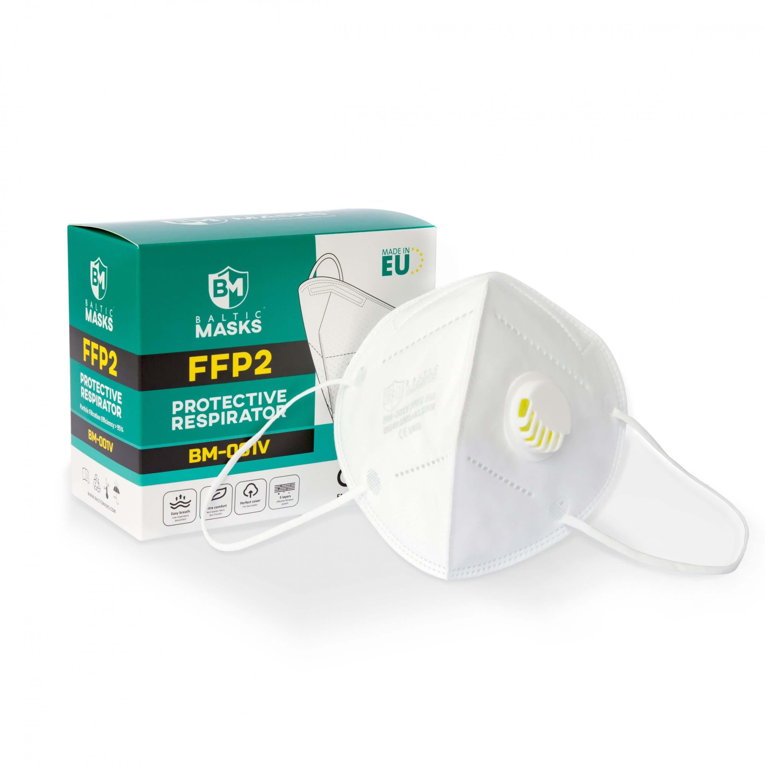 baltic ffp2 szelepes maszk